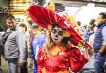 Mega Procesión de Catrinas 2019 en la CDMX