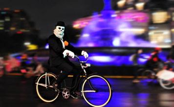 noche de muertos en bicicleta 2019