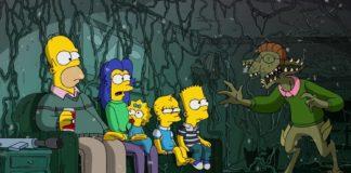 Stranger Things especial de Hallowen de Los Simpsons