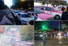 afectaciones por la marcha de taxistas