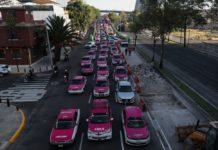 taxistas cancelan manifestación 21 octubre