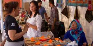 Festival sabores y artesanías del mundo en Venustiano Carranza
