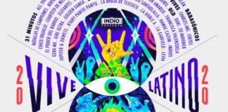 cartel oficial del Vive Latino 2020