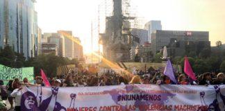 Marcha feminista en CDMX