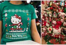 bazar navideño de hello kitty