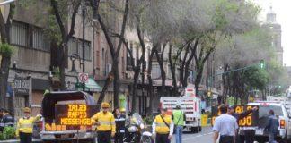 calles cerradas en el Centro Histórico