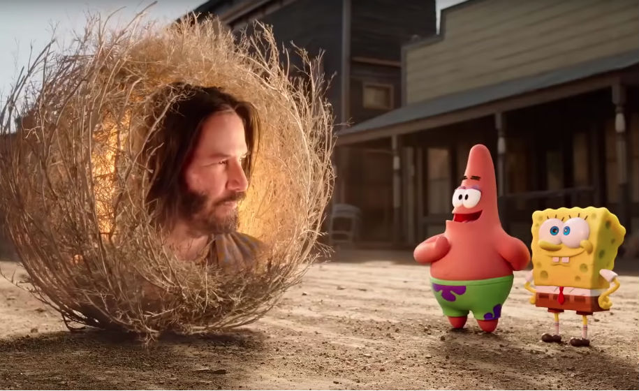 😎 ¡Ya tenemos nuevo tráiler de Bob Esponja! Con Keanu Reeves incluido