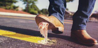 sanciones por tirar chicle en la calle
