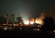 Incendio en Iztapalapa