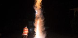 multas por quemar cohetes en la CDMX