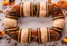 cómo hacer rosca de Reyes
