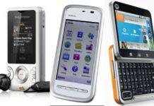 celulares populares de 2010