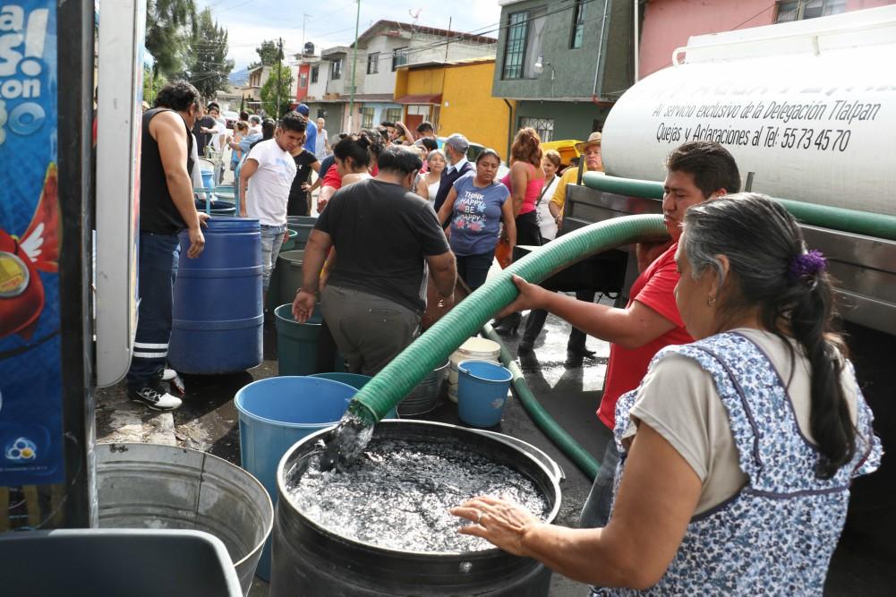 Saca las cubetas: habrá corte de agua durante 24 horas en CDMX