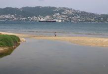playas contaminadas de Acapulco