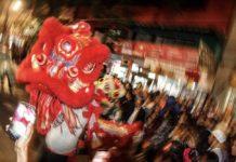 disfraces del Año Nuevo Chino