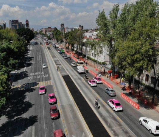 así va la remodelación de avenida hidalgo