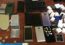 decomisaron celulares en cárceles de CDMX