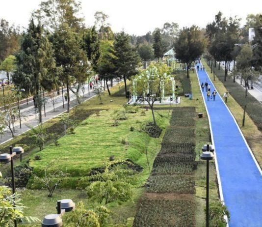 Inauguran Parque Lineal Periférico Oriente