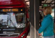 Metrobús el día de reyes magos