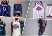 uniformes de Space Jam 2,