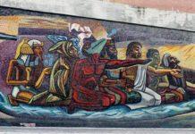 tour por los murales de CU