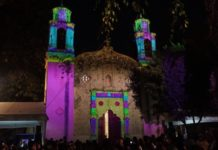 video mapping en xoco