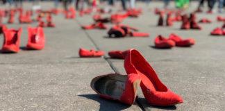 Zapatos Rojos en el Zócalo