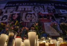 Altar para víctimas de feminicidios