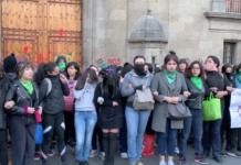 protestas por el feminicidio de Ingrid