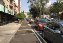 ciclovía en Álvaro Obregón