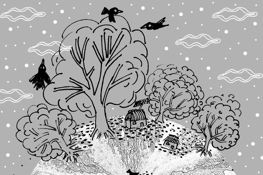 Entrevista ilustrada: formas del recuerdo, Cuauhtémoc Wetska