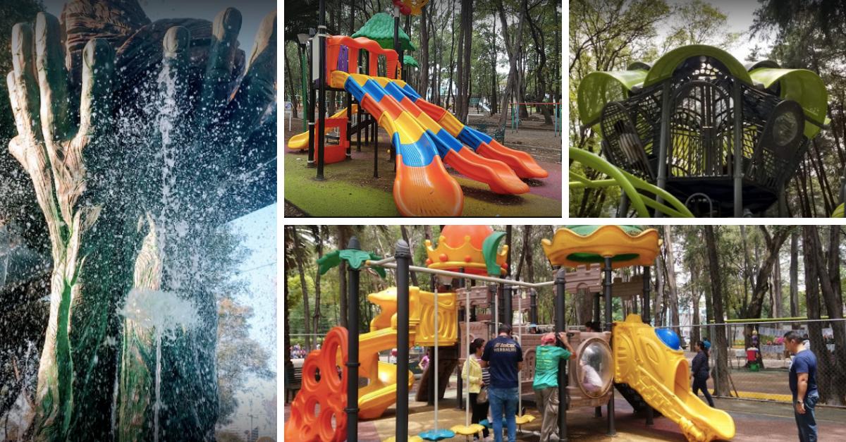 Mapa de parques para niños en la CDMX