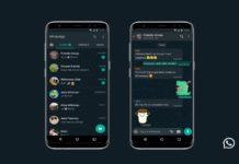 activar modo oscuro en whatsapp