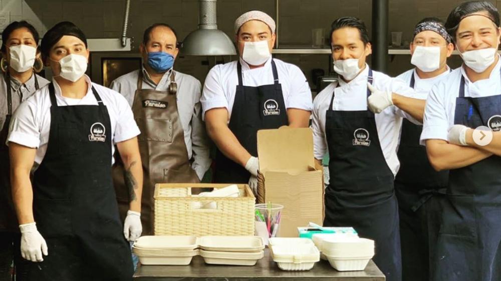 Iniciativas y comidas solidarias para ayudar en la cuarentena 🧡