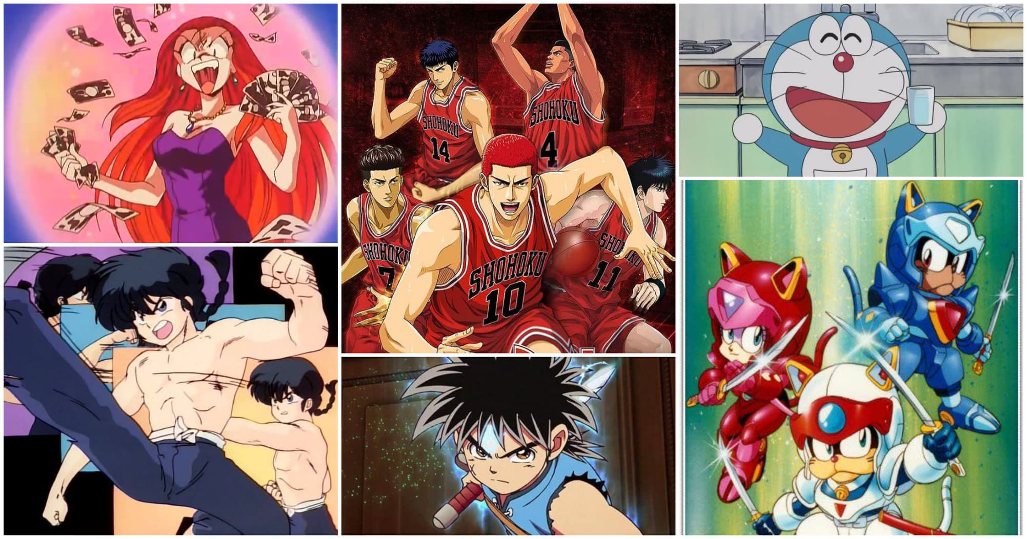 9 animes de los 90 que le dieron infancia a los millennials