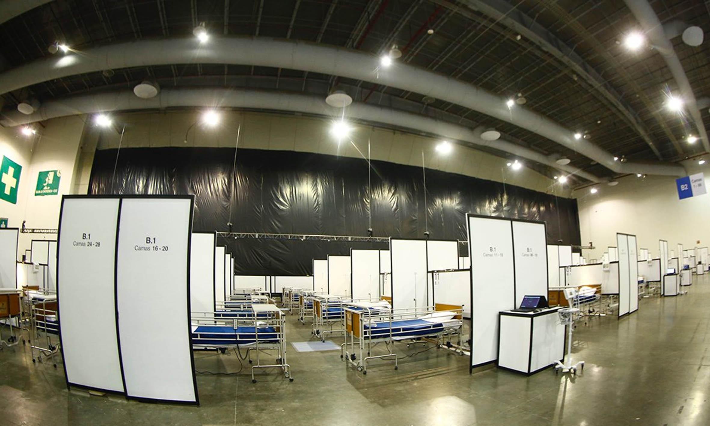 ¡Solo en 21 días! UNAM construye hospital por COVID-19