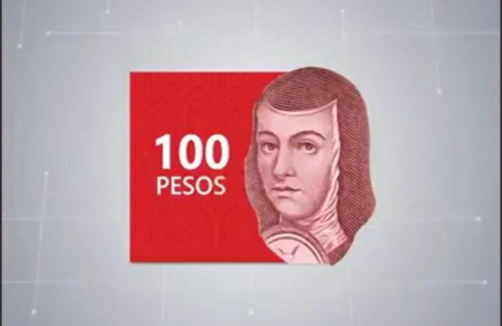 Andará al 100: Sor Juana aparecerá otra vez en los billetes