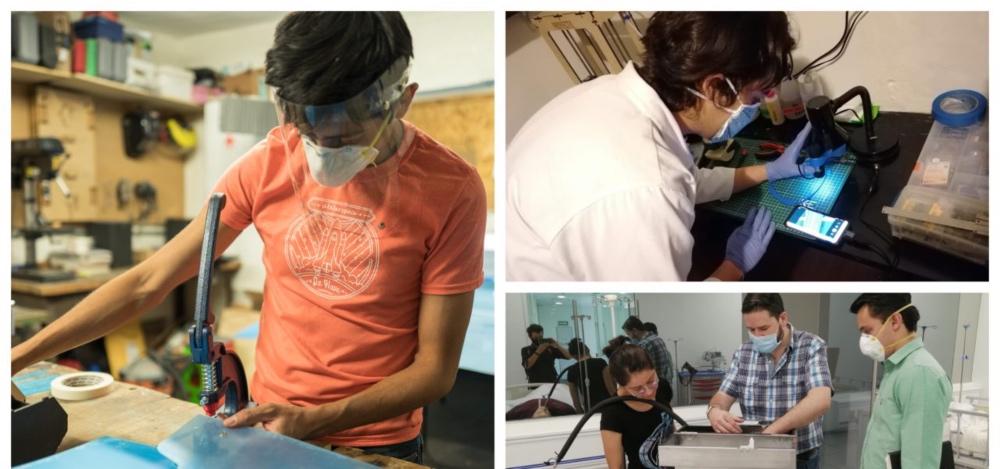 Makers Mx: ellos equipan a personal médico contra el COVID-19