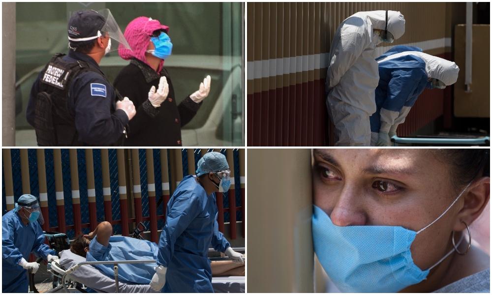 #Fotos: médicos y hospitales chilangos en la crisis por COVID-19