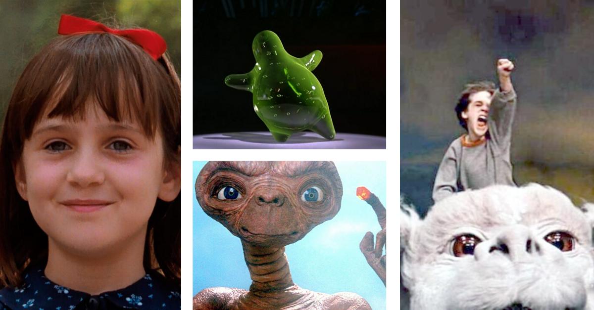 Películas clásicas de los 80 y 90 para ver con niños