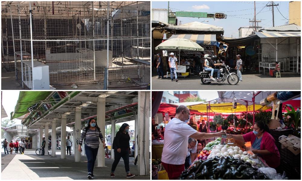 De La Lagu a la Oriental: así operan los tianguis en la crisis