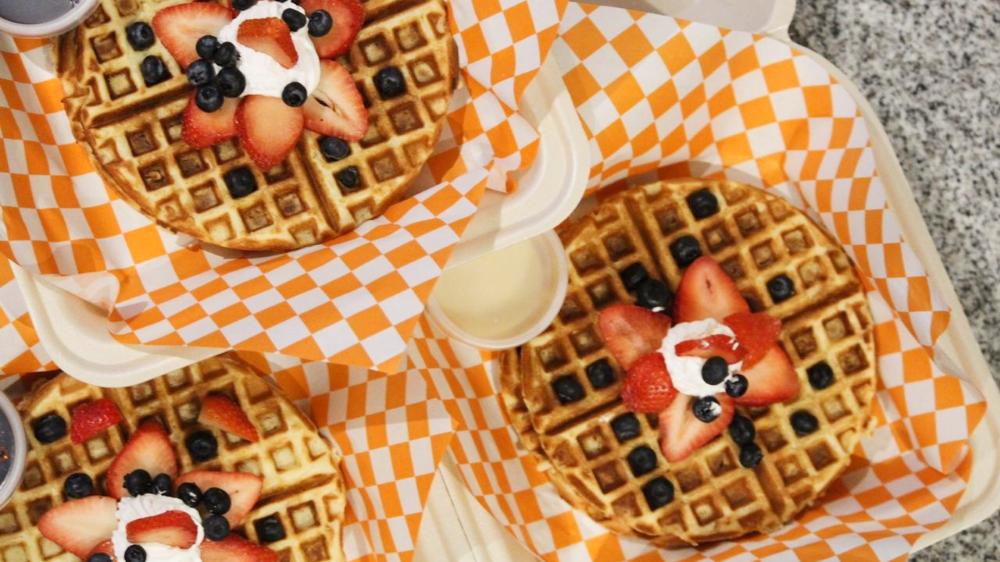 Waffles a domicilio en CDMX: gigantes, veganos ¡y más!