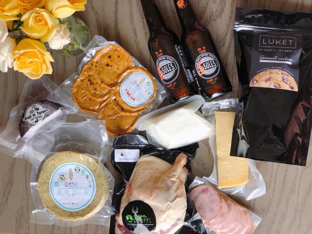 #ComeLocal: productos del mercado de San Juan a domicilio 🧀