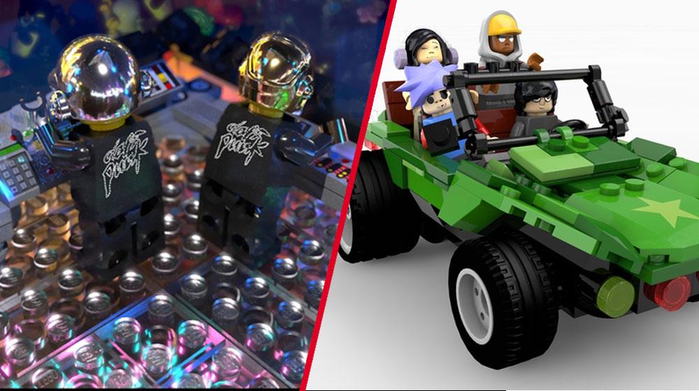 Un Lego de Gorillaz y Daft Punk estaría muy cerca de llegar
