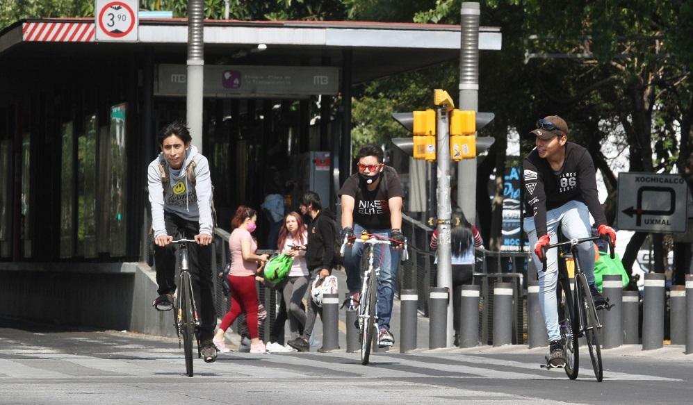 ¡Saca la bici! Abren ciclovías temporales por covid-19