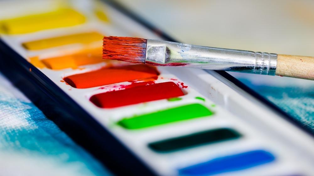 ¿Con estrés? Relájate con clases de pintura en línea 🎨🖌�