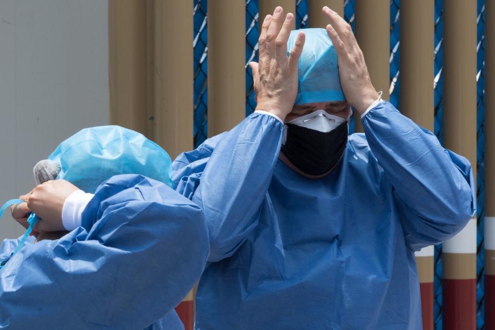 Quien no crea que venga: así viven la pandemia en hospitales