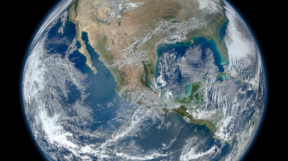 ¡Sorprendente! Así se ve México desde el espacio 😍🌎