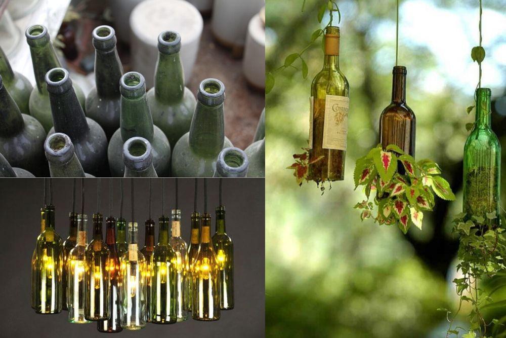 ¡Recicla tus botellas con estos tutoriales! �😉