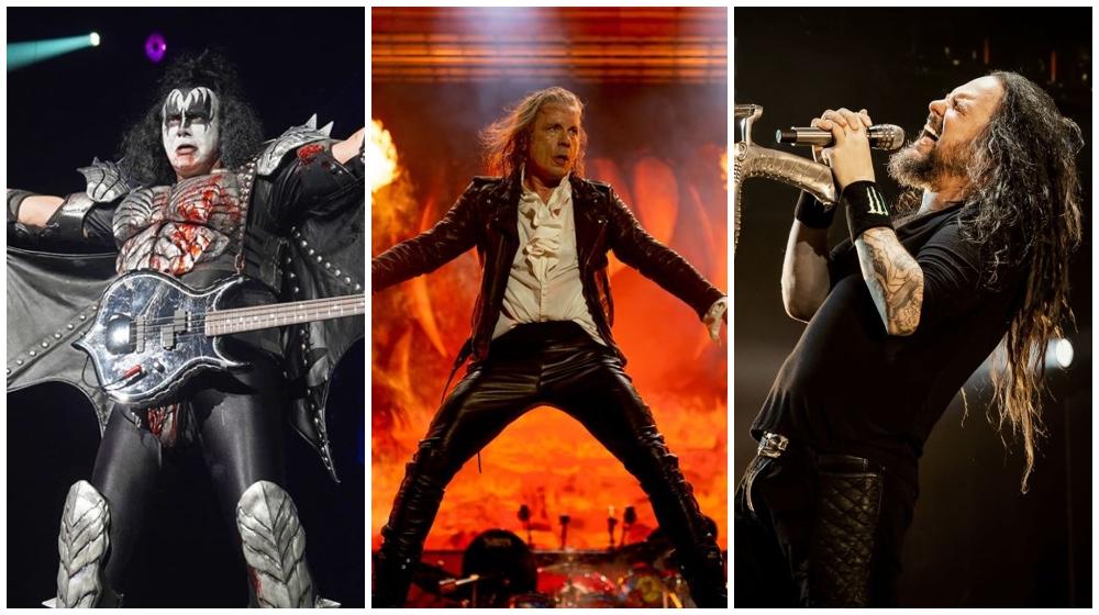 Kiss, Iron Maiden, Korn y más en el festival Download TV